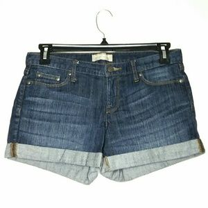 Banana Republic Size 28/6 Blue Jean Shorts